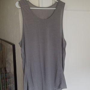 Lululemon grey tank top